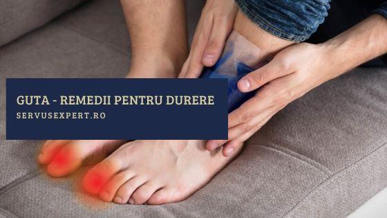 calmează durerile articulare cu guta