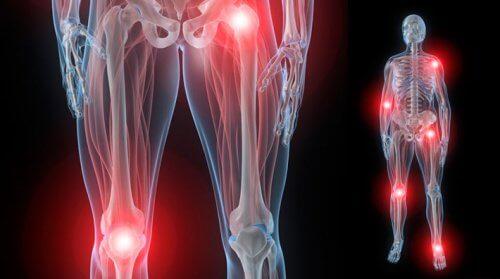 durere în articulațiile brațelor și picioarelor noaptea)