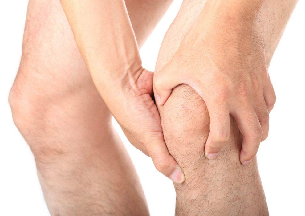 dureri la genunchi în arsurile articulare
