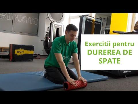 un set de exerciții pentru durerea articulației cotului