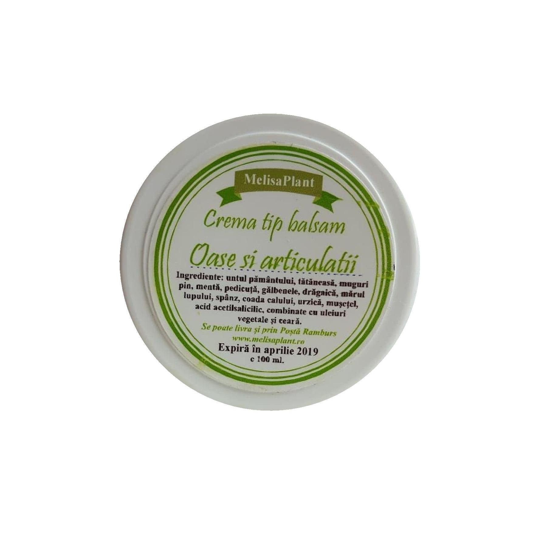 Crema Oase si Articulatii 8 plante 120 ml