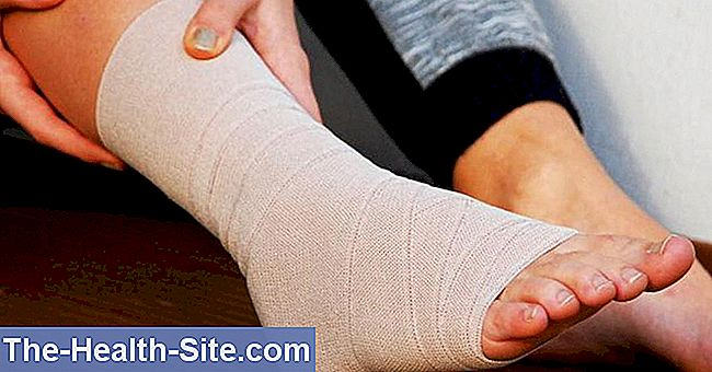 deteriorarea parțială a ligamentului gleznă-tibial a articulației gleznei