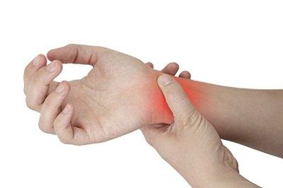 tratament de entorsă la încheietura mâinii