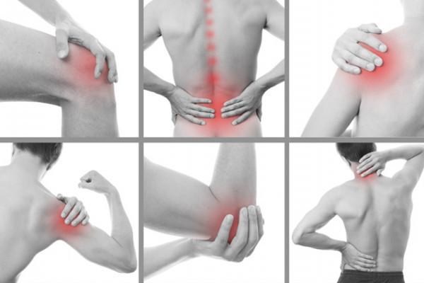 umflarea durerii musculare)