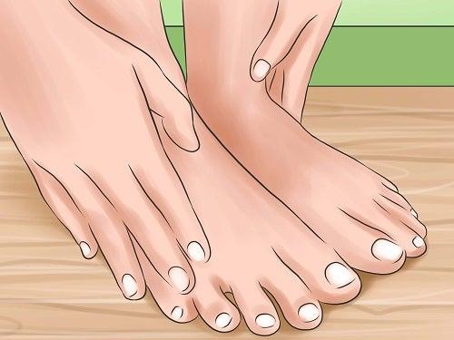 durere în articulațiile degetelor de la picioare)