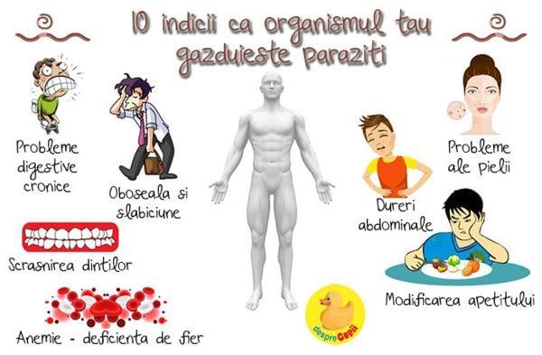 paraziți în durerile articulare ale corpului