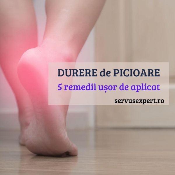 picioare intepenite tratament