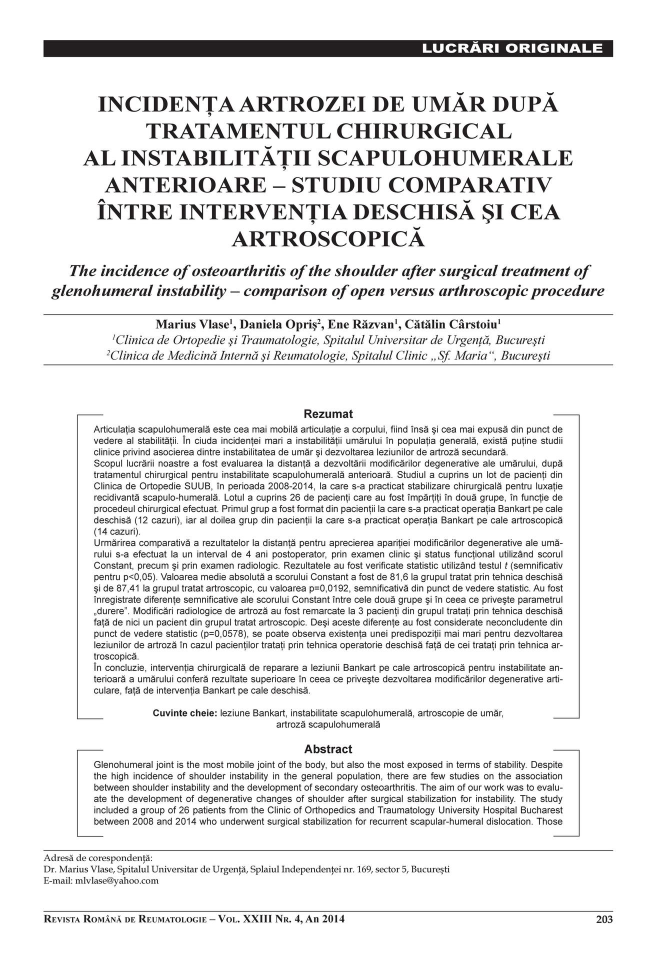 tratamentul artrozei forumului