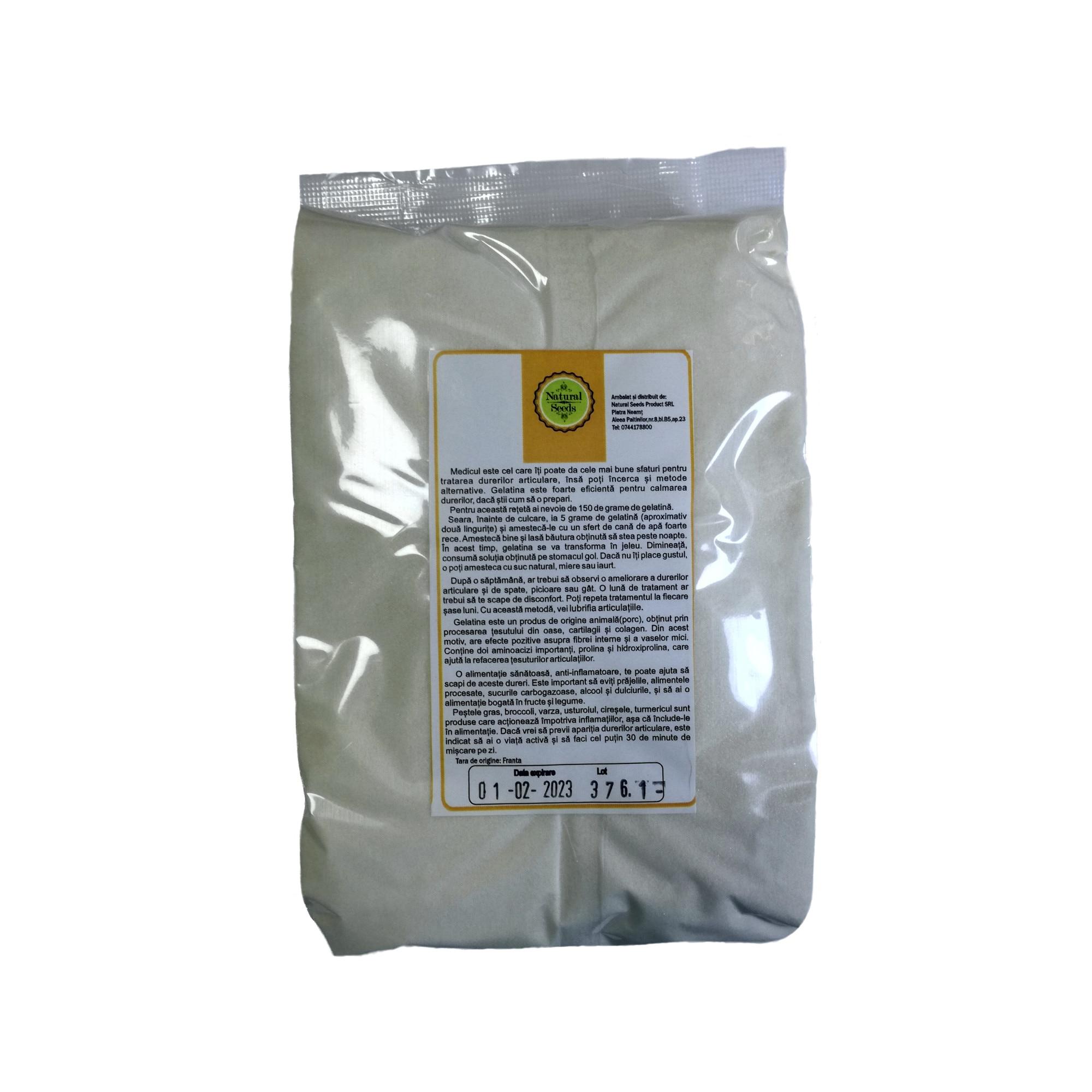 Sanoarticulatii - Gelatina Alimentara gr, Natural Seeds Product - blumenonline.ro