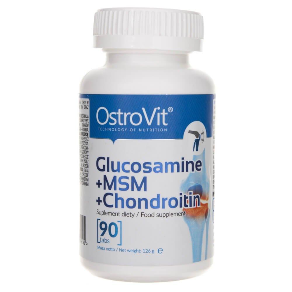 glucozamină și condroitină 90 capsule)