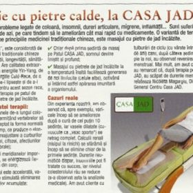 tratament articular cu jad