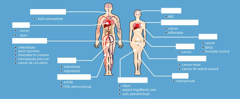 articulațiile doare după fumat