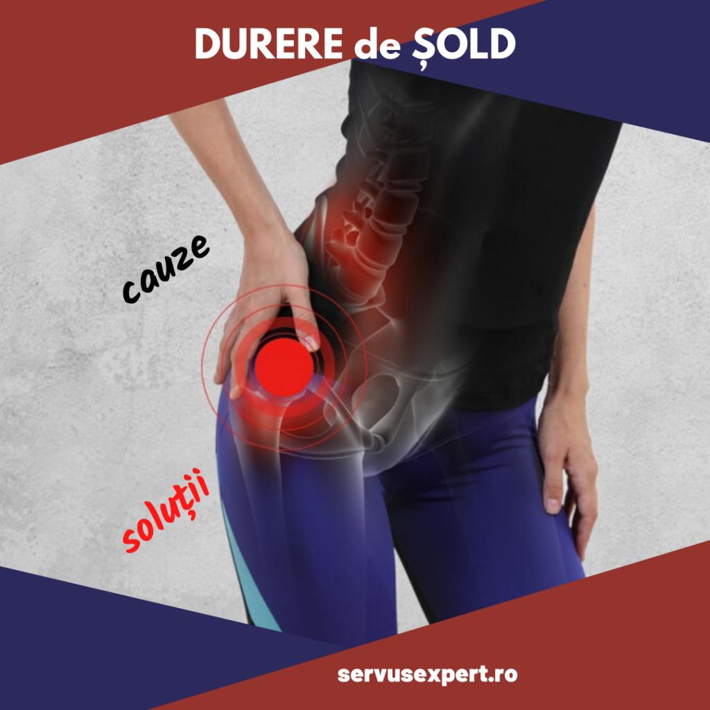 dureri în sacru și cauzele articulației șoldului