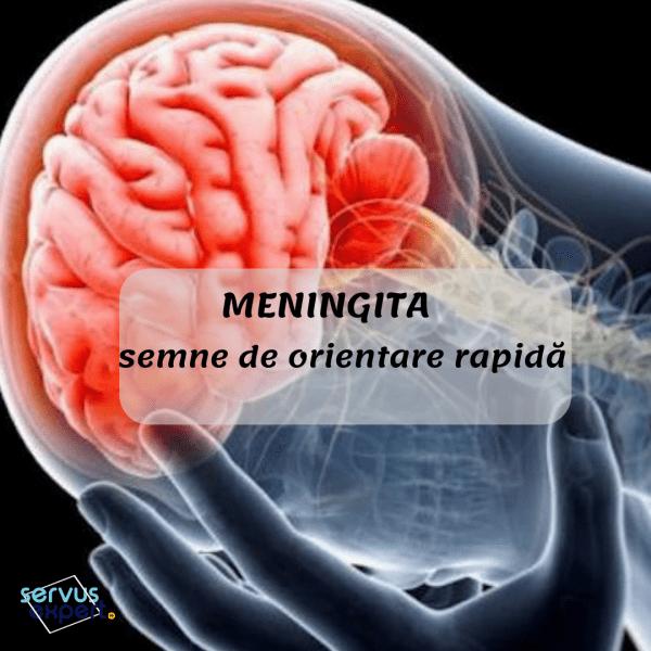meningita durerii articulare)