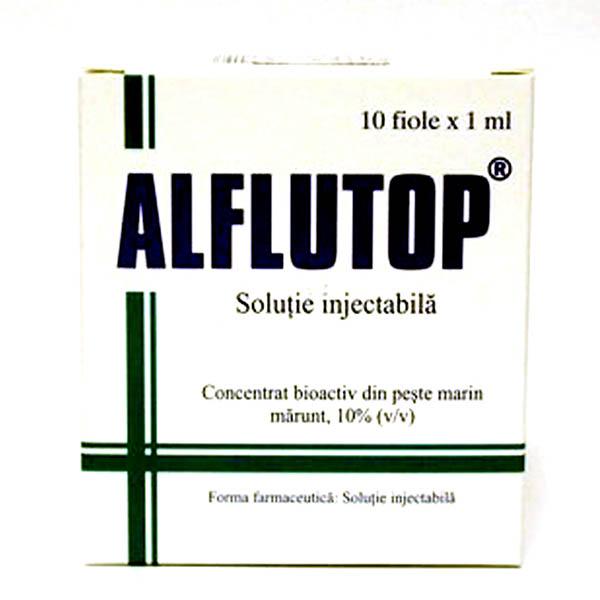 injecții pentru durere în articulații alflutop Preț)