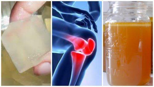 gelatină împotriva durerilor articulare