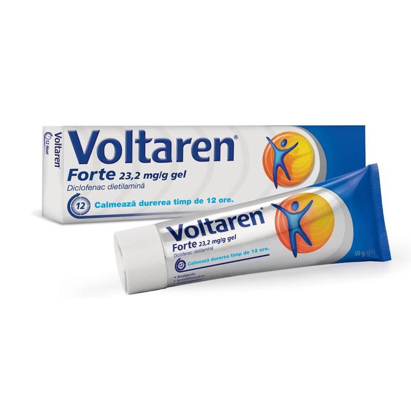 Voltaren - pentru dureri articulare - Preparate pentru articulația umărului