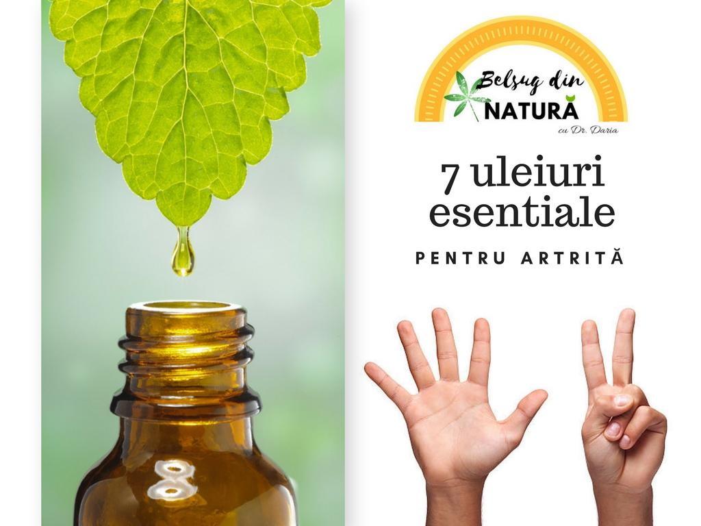 ulei pentru tratamentul artritei și artrozei