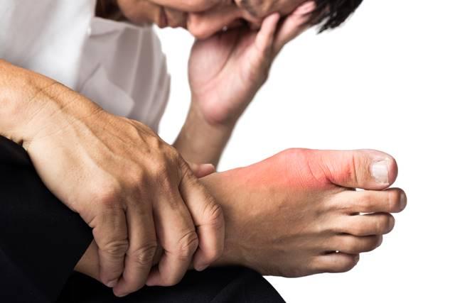 artrita guta a degetului mare