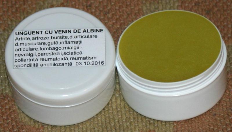 artroza tratament cu venin de albine)