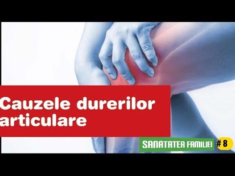 articulațiile și oasele doare și se crăpa