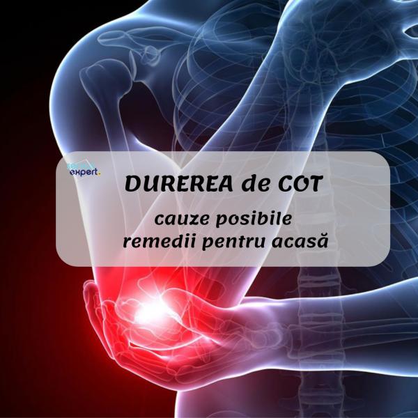 durerile de cot provoacă tratament