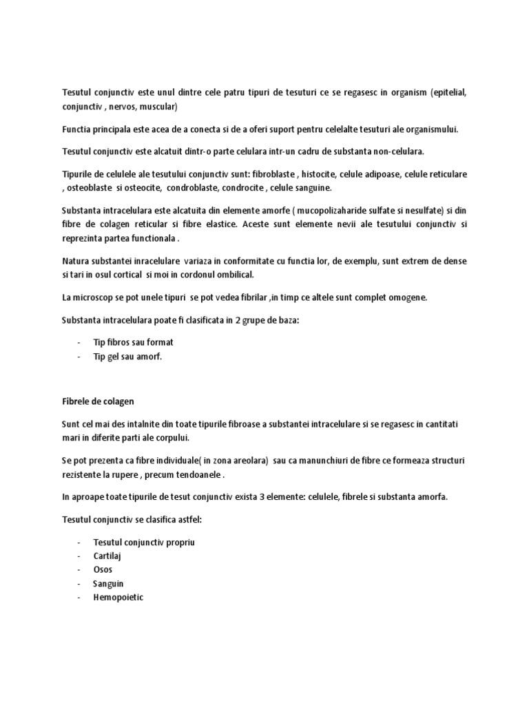 tratamentul hialinozei țesutului conjunctiv