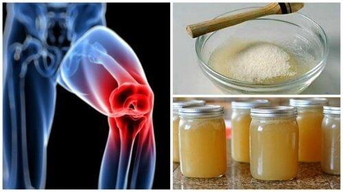 pentru dureri articulare cum se utilizează gelatina)