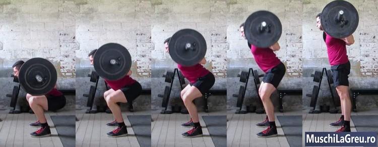 powerlifting pentru dureri de șold