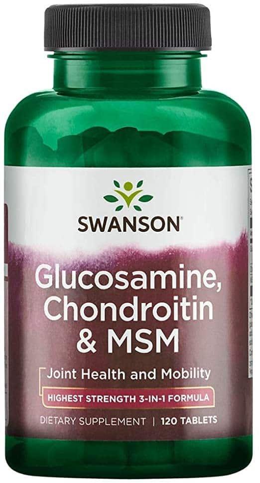 Supliment Alimentar GNC Glucozamina 750 Condroitina 600 mg, 60 tb