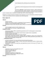 Protocol de tratament pentru artroza genunchiului)