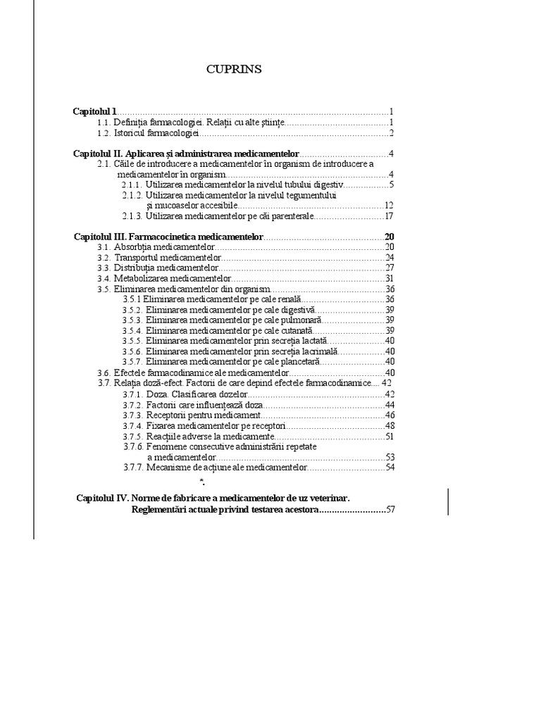 clasificarea medicamentelor veterinare pentru bolile articulare)