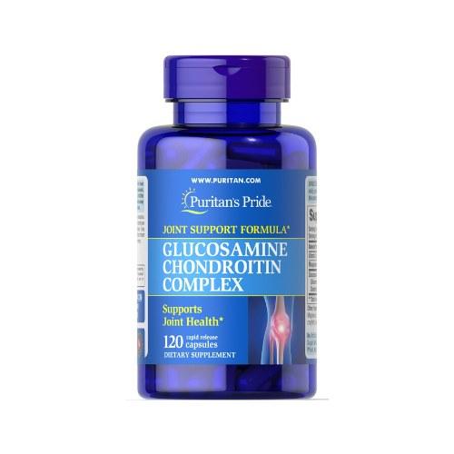 Complex de glucosamină condroitină 60, Complex Glucozamină MSM, 60 tablete, Solgar