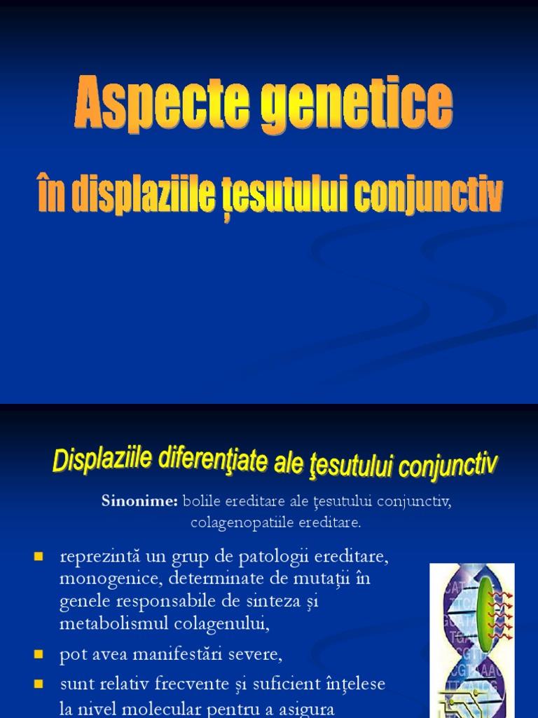 boli genetice ale țesutului conjunctiv
