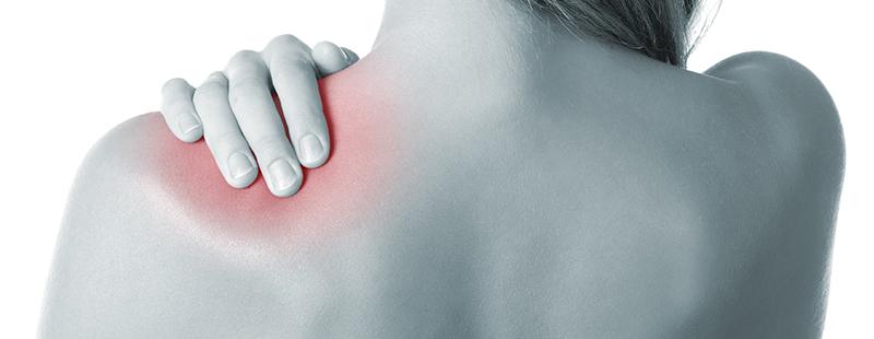 durere bruscă în articulația umărului)