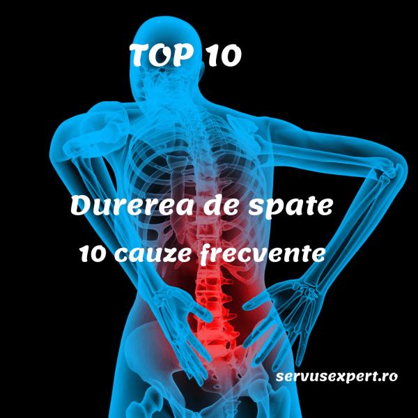 Top 10 lucruri de reţinut despre durerea lombară joasă