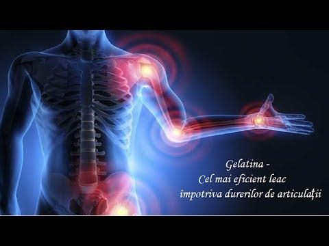 gelatină în tratamentul artrozei