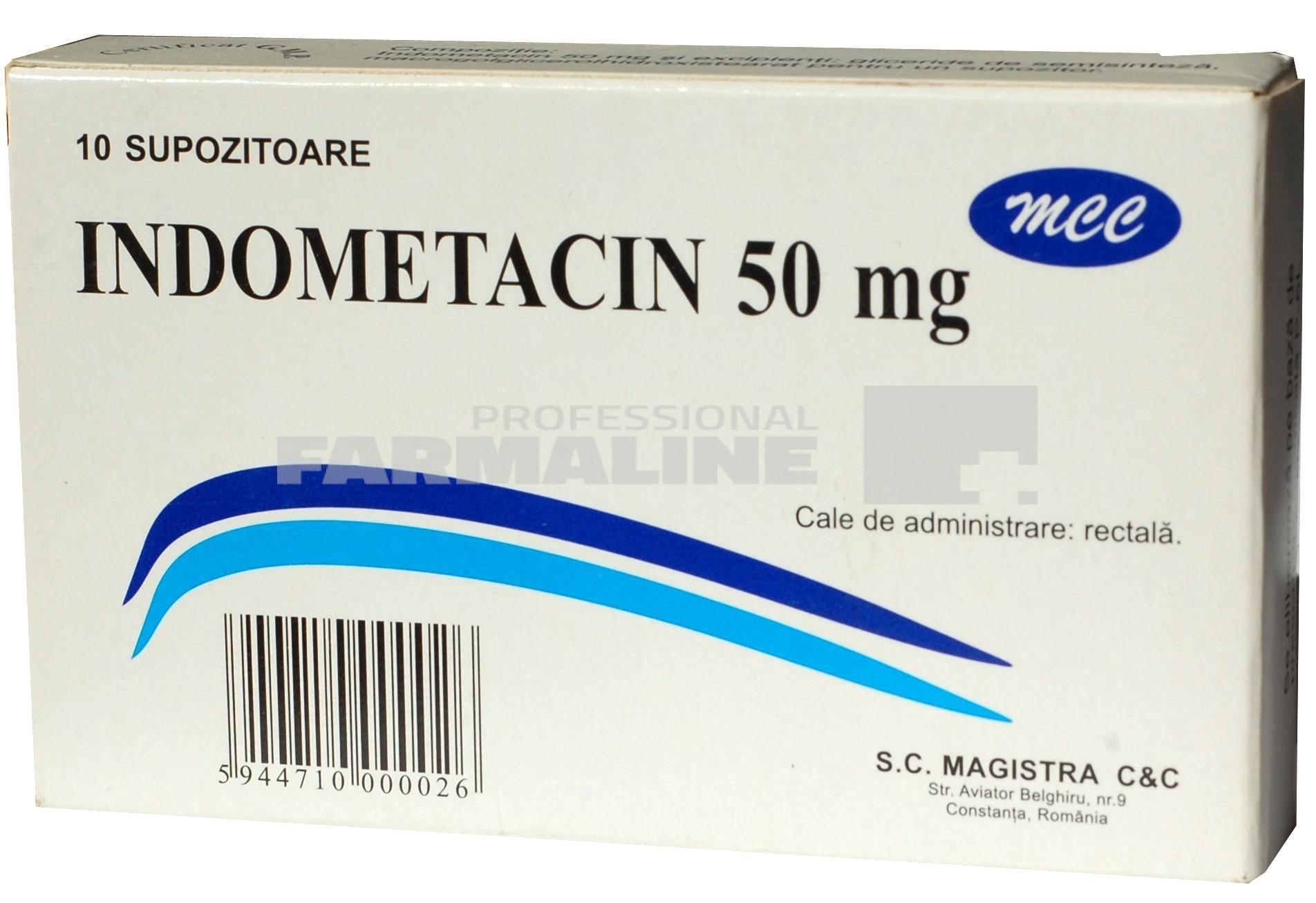 cum să luați indometacină pentru dureri articulare)