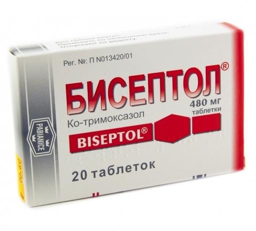 tratament comun cu biseptol