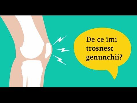 articulațiile în genunchi și picioare se crispa)