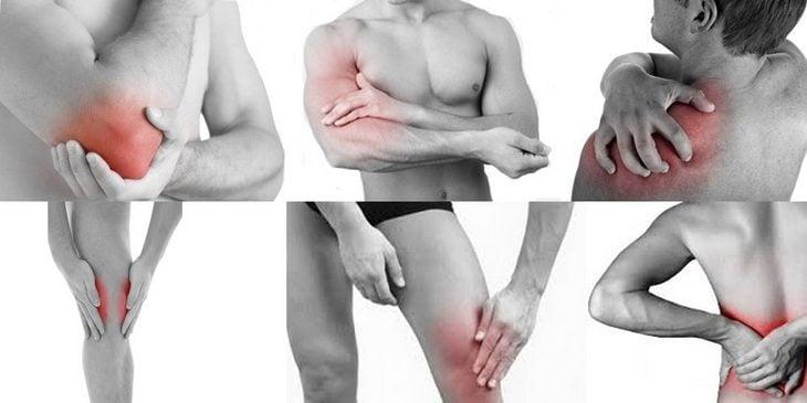mușchii și articulațiile întregului corp doare)