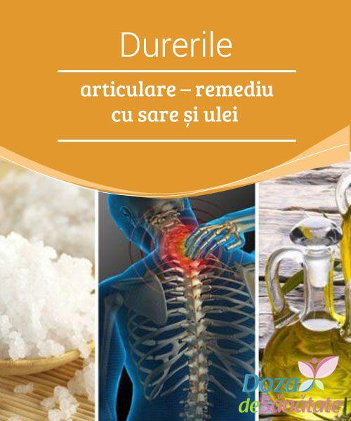 dureri articulare tratament de sare de mare)