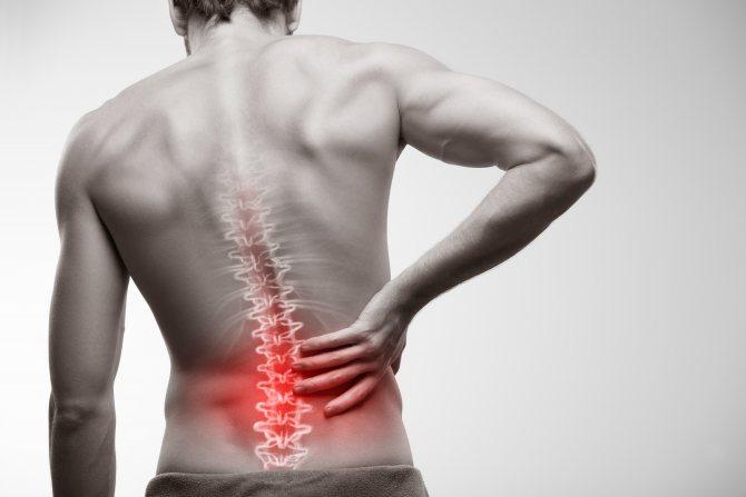 articulații dureroase pe spate