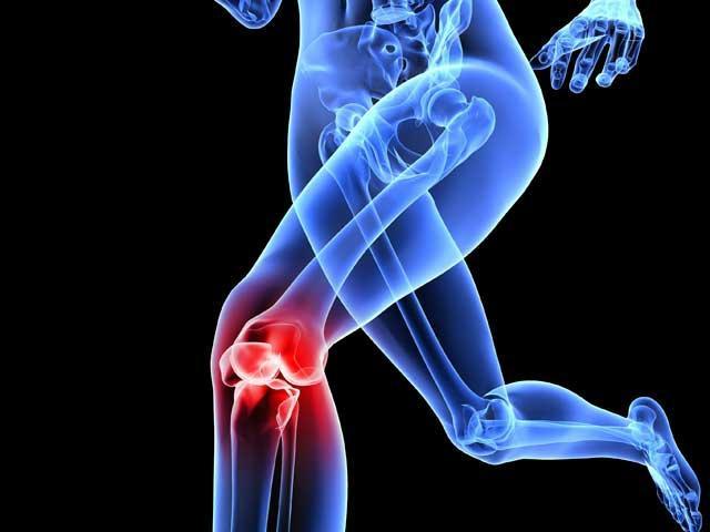 entorsa genunchiului