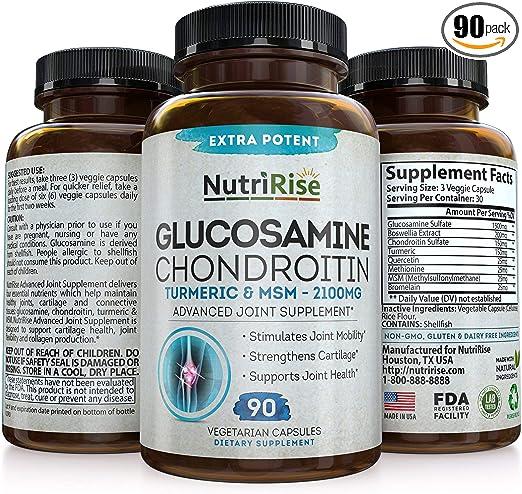 glucozamine și condroitine