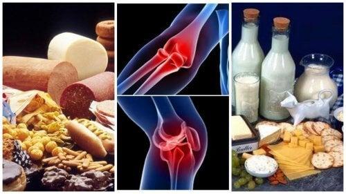 produse interzise pentru durerile articulare)