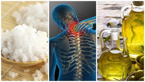 Zăpadă și sare din dureri articulare