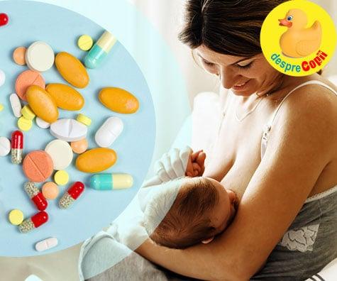 tratament comun pentru alăptare)