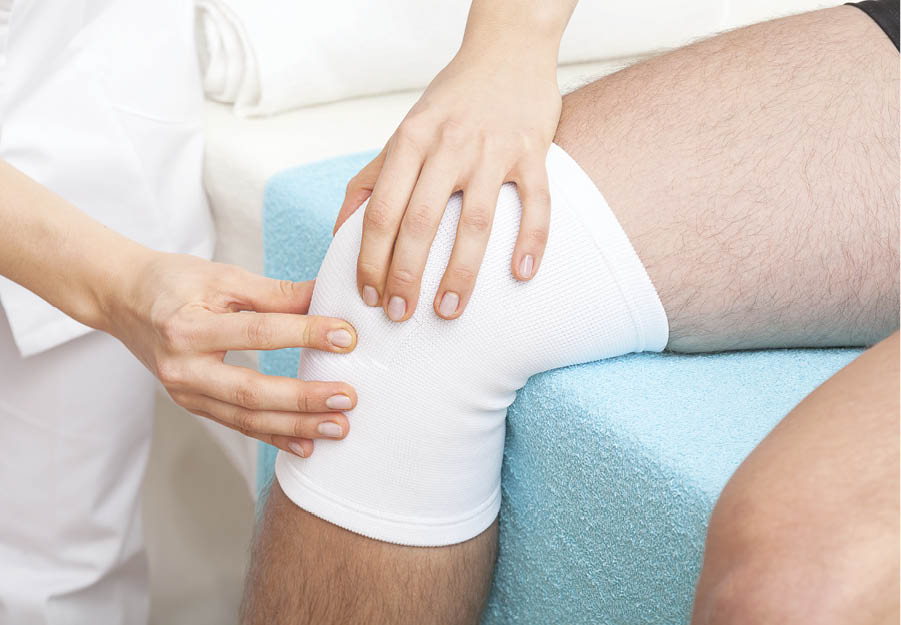 tratamentul umflat la genunchi